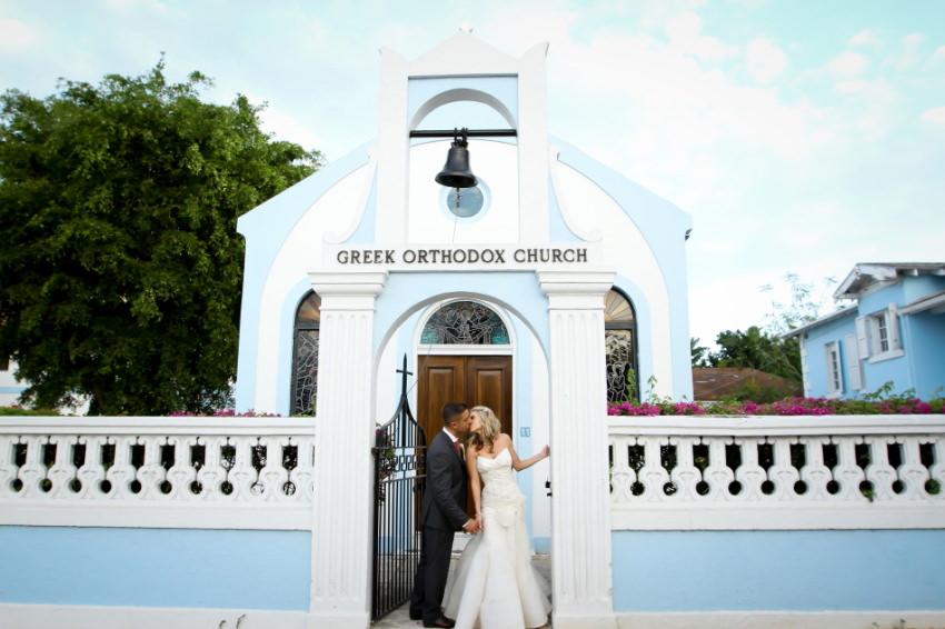 Annunciation Greek Orthodox Church Bahamas Wedding Photographer